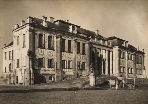 Фото палацу Любомирських для графині Лянцкоронської