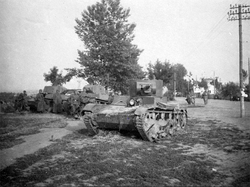 Як німці захоплювали Рівне в 1941 році. Танкова трагедія на околицях міста