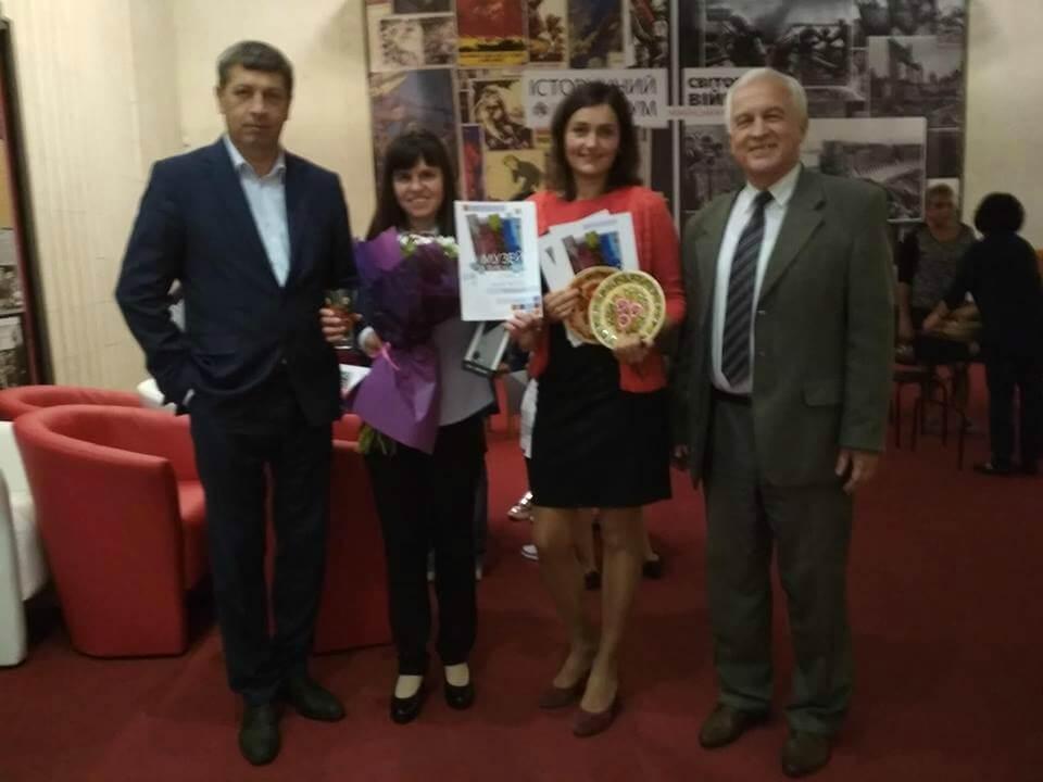 Рівненські музейники отримали нагороду на фестивалі в Дніпрі