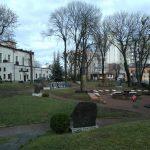 Сквер біля костела