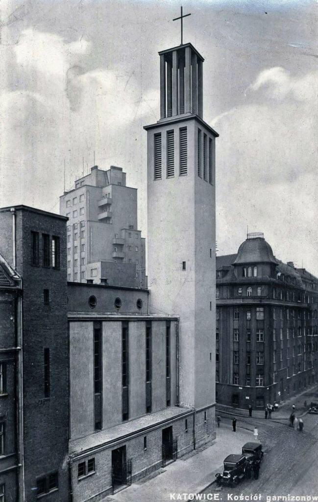 Костел Святого Казиміра в Катовіцах і дійсно чимось схожий на рівненський, фото 1933 року