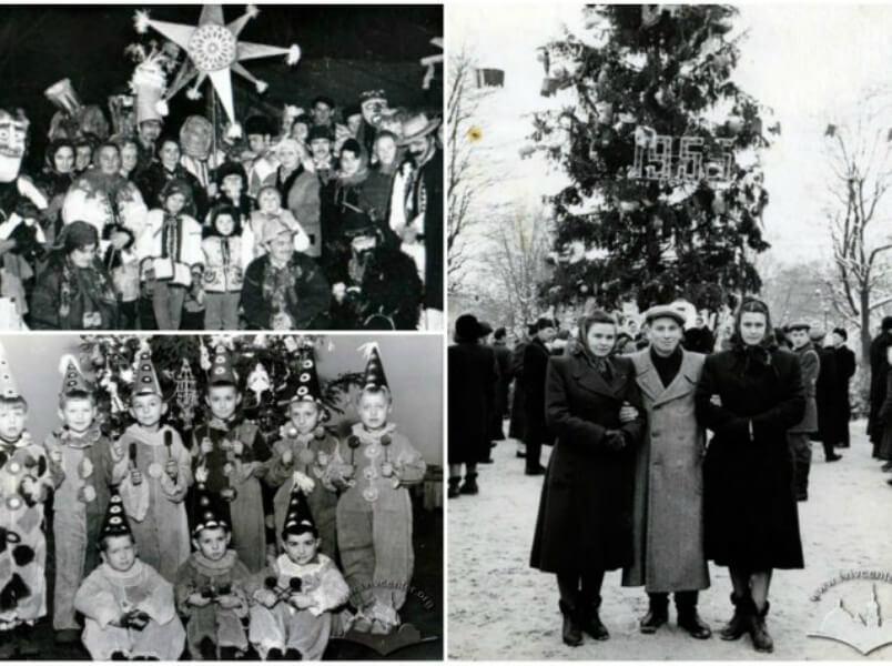 Як святкували Новорічні та Різдвяні свята в радянському Львові. Історія в дев'яти фотографіях