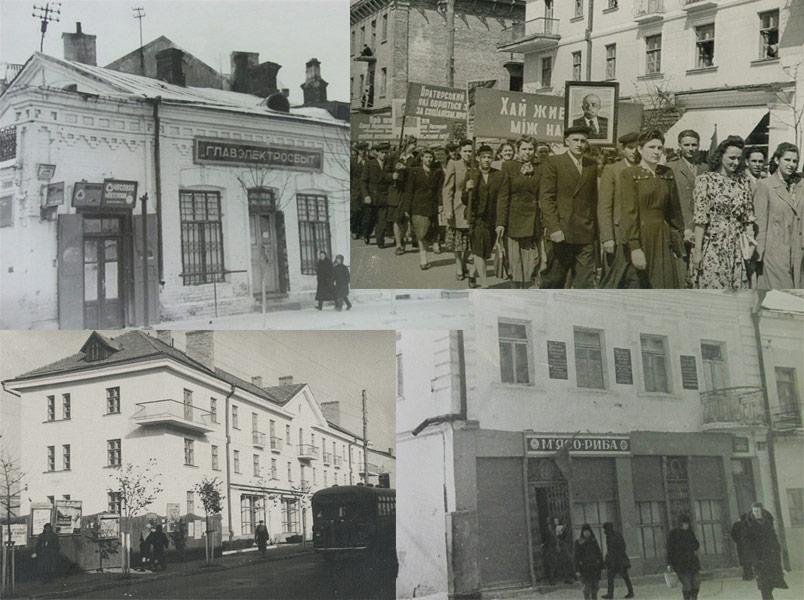 Рівне 1940-х: місто в чорно-сірих тонах