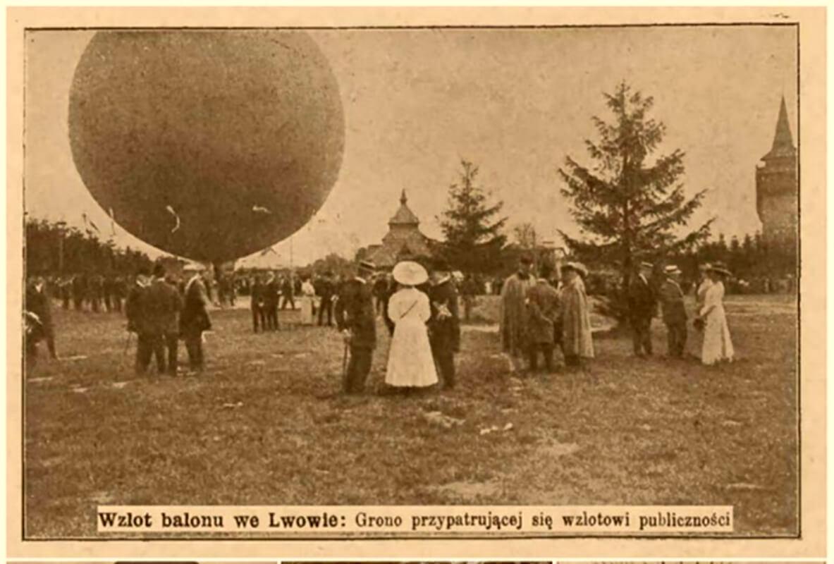Над Львовом у хмарах, або Перший у Польщі політ керованою повітряною кулею