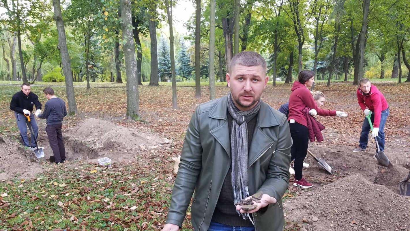 У парку імені Шевченка в Рівному археологи можуть зробити нові відкриття