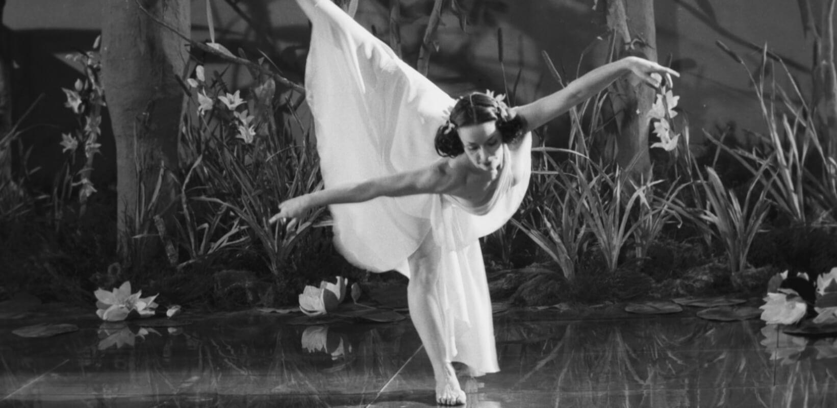 Львівська балерина Барбара Бітнерувна на унікальних світлинах