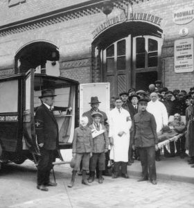 Із буднів служби швидкої допомоги міжвоєнного Львова