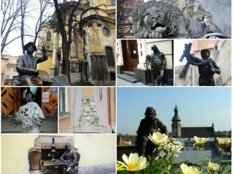 Здійснювачі мрій або топ-10 пам'ятників, які неодмінно потрібно побачити у Львові