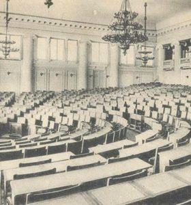 """Рівненські вибори 100 років тому. Крикуни і """"падкіє до угощеній"""" та кого позбавляли права голосу"""