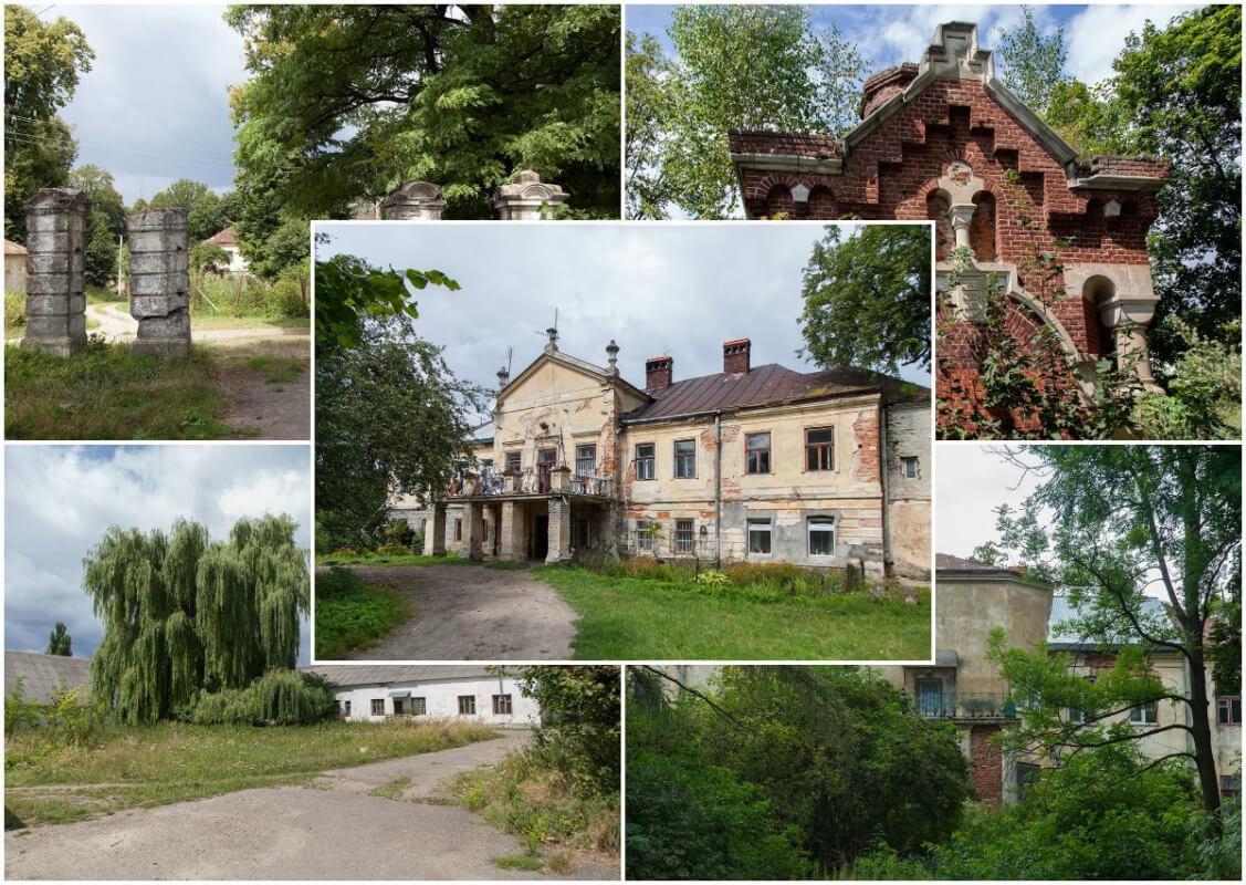 Любомирські, Шнайдер, Пінінський, Скарбек та інші, або Історія унікального маєтку