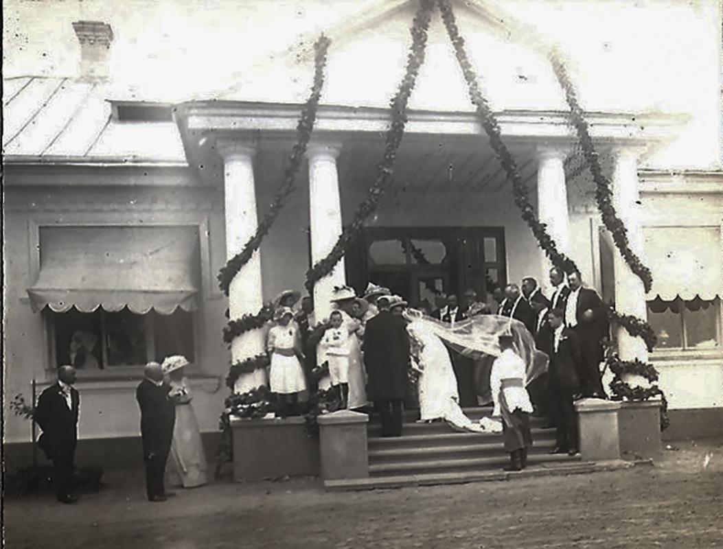 Палац Грохольських в Підбереззі на Горохівщині