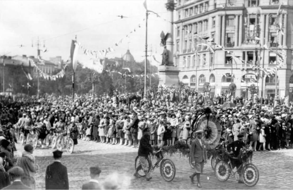 Історія велоруху у Львові