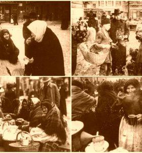 Вулична торгівля у Львові на столітніх фото