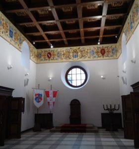 Родзинка Дубенського замку — оновлена Тронна зала
